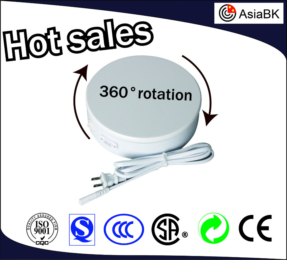 Hot sale of display platform turntable 360 degrees rotation electric rotating display stage turntable for model/fashion/clothing
