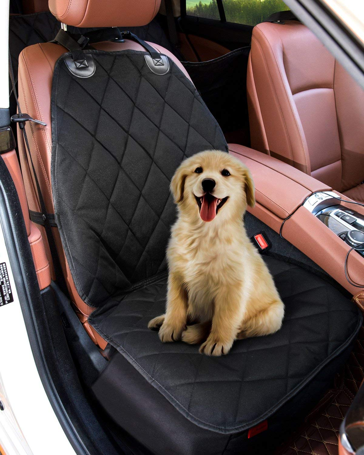 Pet Dog Car Seat Cover Protector, Waterproof Nonslip Seat Covers for Dogs, Dog Seat Covers for Cars, Puppy Car Seat, Anti Scratch Blanket Mat for Truck Cars SUV Seat, Machine Washable