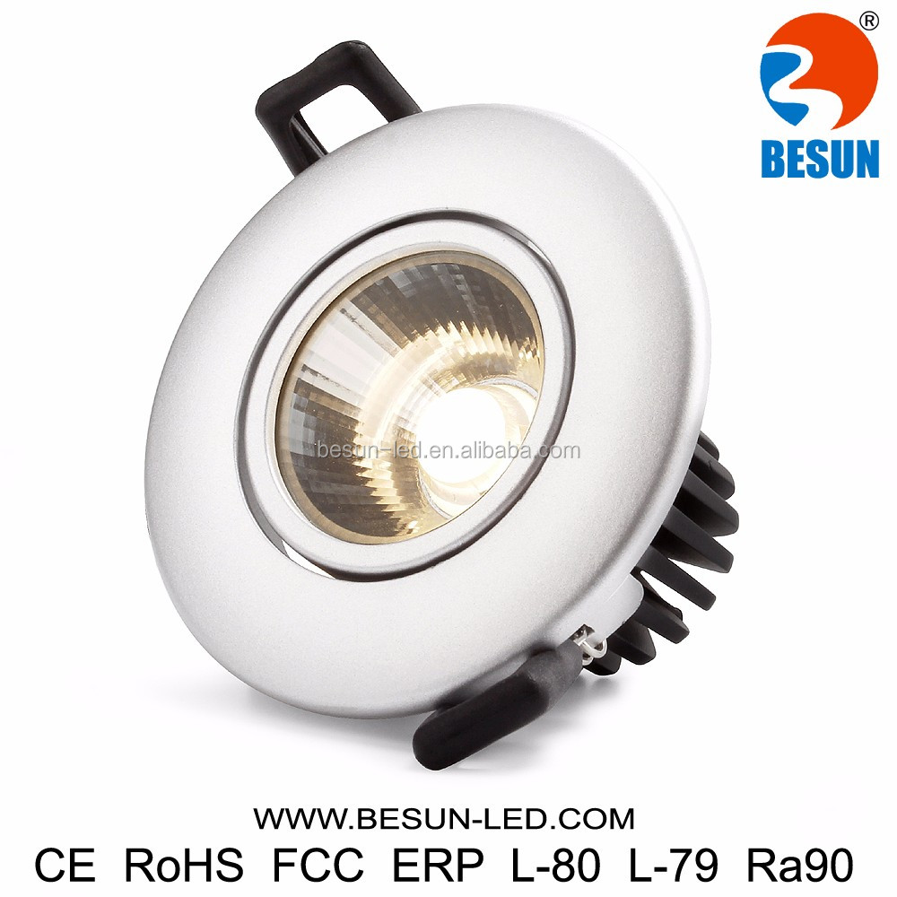 Support almost all the famous light sources led down lighting 7w cob downlights IP54