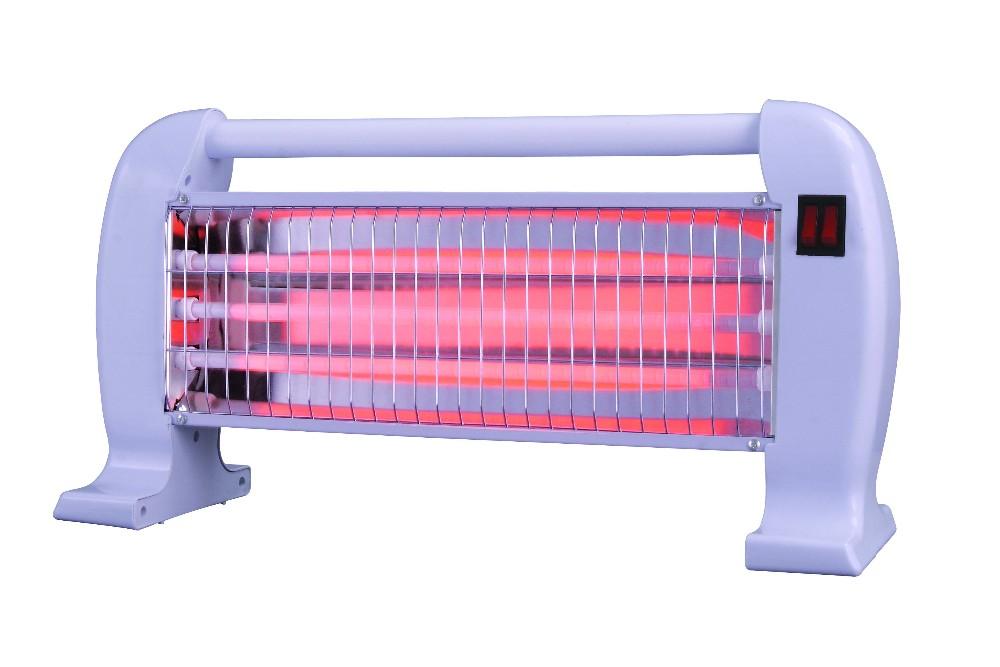 Halogen Quartz Tube Infrared Heater 3 Quartz Lamps Energy