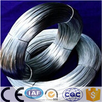 electro/hot dipped galvanized iron metal wire/ from BWG8 to BWG30/awg 11