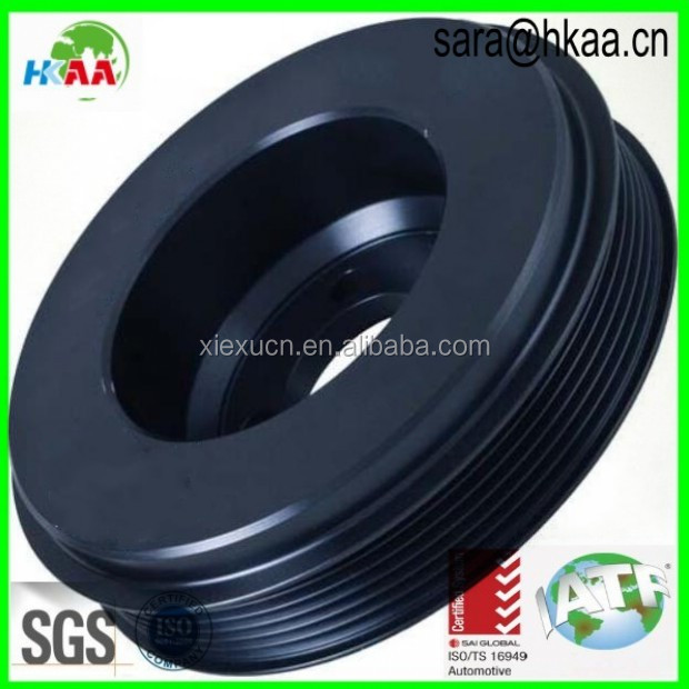 CNC Machining Plastic Timing Belt Pulley For Mechanical Equipment