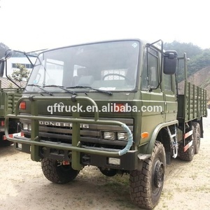 6x6 Off road double cabin army carrier trucks