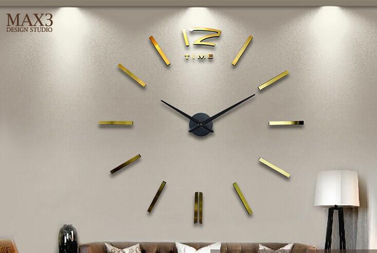 Grandes relojes de pared decorativos diy sticker p ndulo - Relojes decorativos pared ...