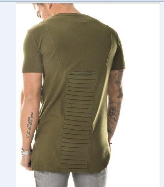 c9084eeb7e6 Mens T Shirts Fashion 2016 Tshirt Homme Men Army Green T Shirt Swag ...