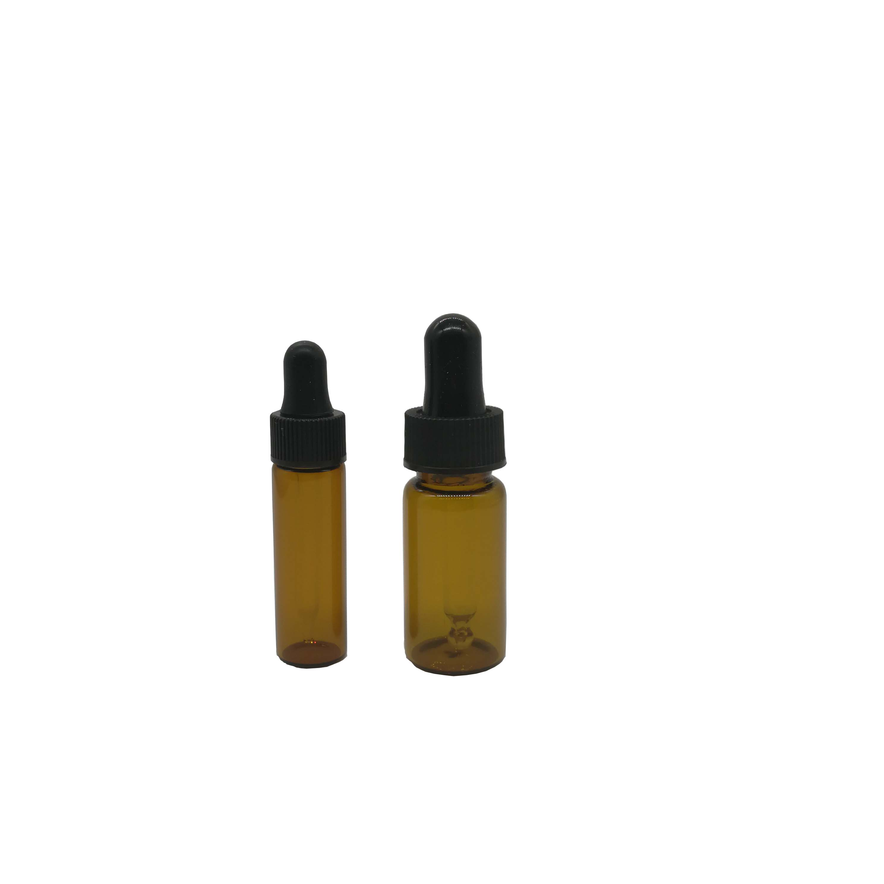 Hot selling 4ml/10ml empty brown Oil bottle/gel bottle/dropper lid