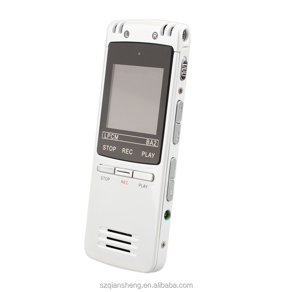 Digital Voice Audio Telephone Recorder MP3 Playing function mini hidden digital voice recorder