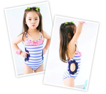 31b83ead6c84 Children Cute Baby Summer Beach Wear Swim Clothes Small Hollow ...