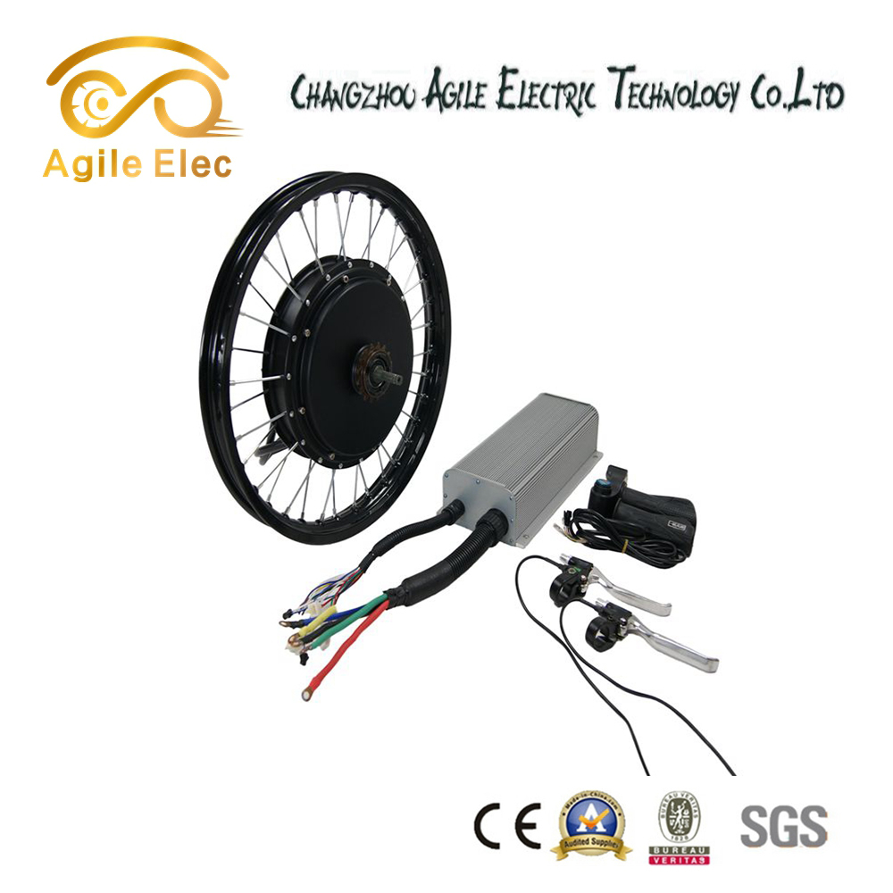 5000w hub motor fat tire electric bike kit 60V 72V with LCD display