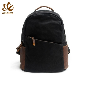 Cheap vintage canvas backpack, outdoor adventure backpack, backpack travel bag