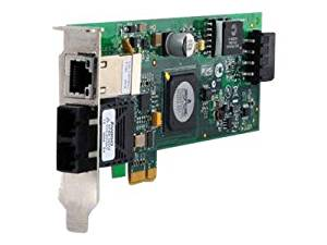 Allied Telesis AT-2716POE/FXSC Gigabit Ethernet Card. 100FX SC 2PORT W/ 10/100/1000T POE NETWORK ADAPTER FAST-E. PCI Express x1 - 2 Port - 10/100/1000Base-T, 100Base-FX - Internal - Low-profile