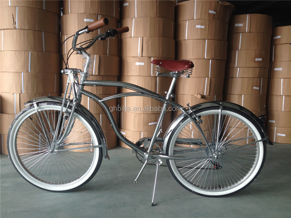 Spring Fork Beach Cruiser Bike Vintage Bicycle