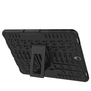 Tire Patterned Shockproof Kickstand Armor Case for Samsung Galaxy Tab S3 9.7 Sturdy Defend Case