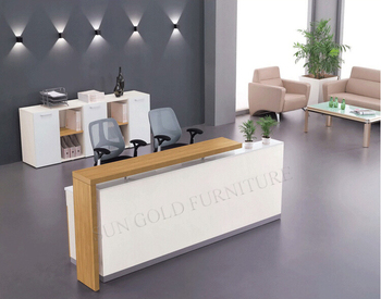 High qualtity beauty salon reception desk , hotel reception counter design  (SZ-RTB005)