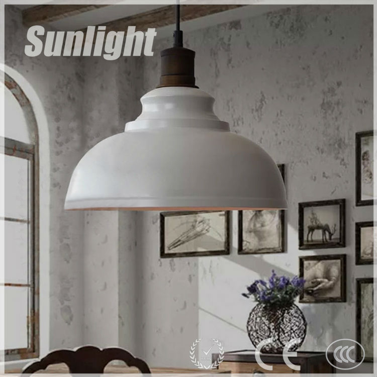 Loft Pendant Lamp With Bulb /cafe Restaurant Canteen Bar Counter ...