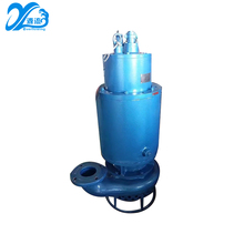 Recently designed centrifugal electric submersible sand sution dredging pump with agitator