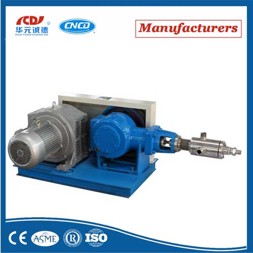 LOX/Lar/Lin/LNG /LCo2 Cylinder Filling of Large Flow Cryogenic Liquid Piston Pump