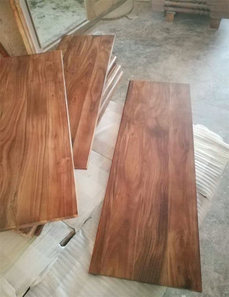 Acacia Walnut Solid Wood Stair Tread   Buy Acacia Stair Tread,Acacia Wood Stair  Tread,Walnut Wood Stair Tread Product On Alibaba.com
