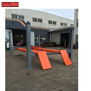 Factory price 4 post used 4 post car lift for sale lift