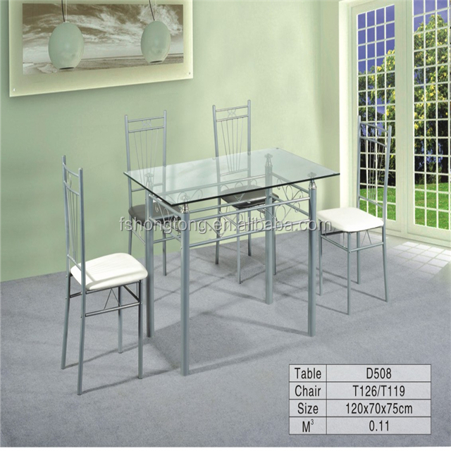 Mainstays Metal And Glass 5 Piece Dining Setkitchen Tabledinette