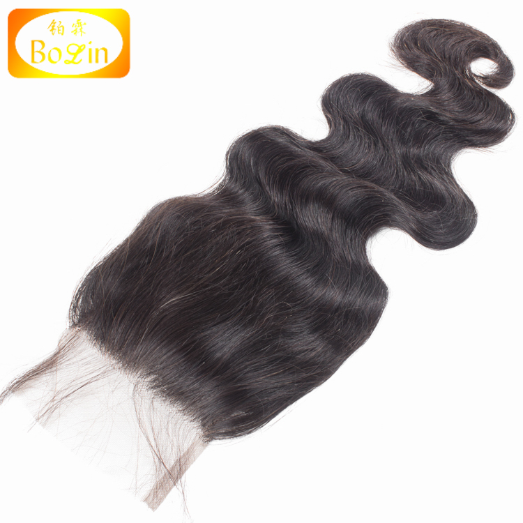 8A grade Mongolian Virgin Hair lace Closure 4*4inch top head lace closure Unprocessed virgin hair lace closure