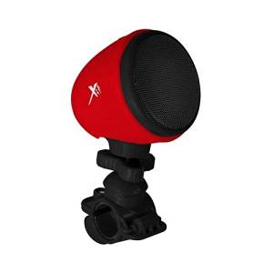 Xit AXTBSBK Bicycle/Stroller Bluetooth speaker, Black/Red