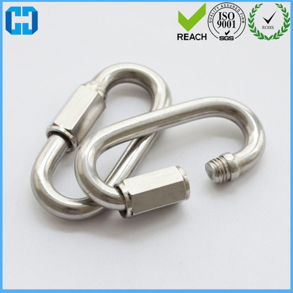 Wholesale Screw Lock Steel Carabiner Clip Snap Hook