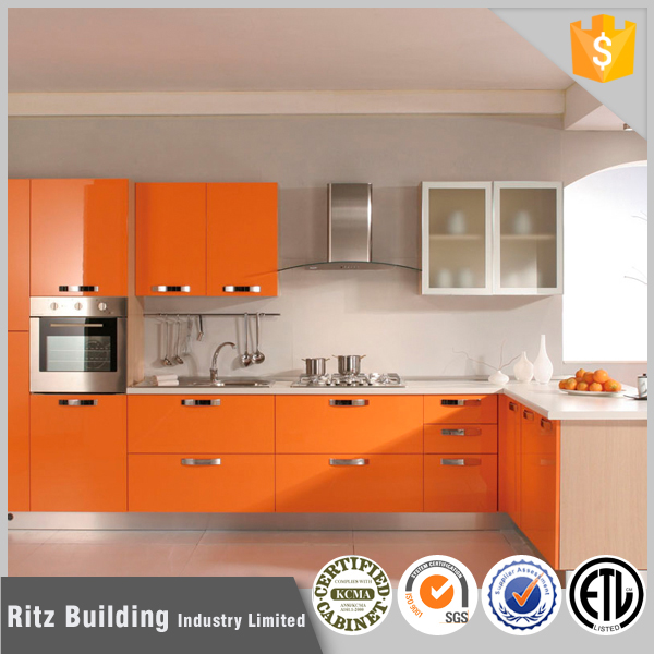 China Made High Glossy UV Kitchen Cupboard