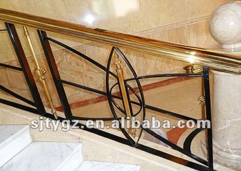 nouveau style escalier main courante de fer forg buy product on. Black Bedroom Furniture Sets. Home Design Ideas