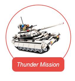 Qman Gepantserde raket voertuig Militaire motorfiets Mobiele Commando truck educatief bouwsteen
