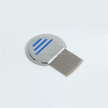 Nit Free Terminator Stainless Steel Lice Comb Metal For Pets And Kids