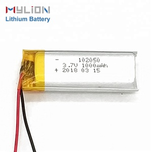 Mylion 102050 1000mah 3.7 v bluetooth headset battery