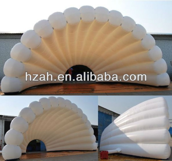 Clam Shell Inflatable Stage Dome Tent/ Stage Cover Inflatable ...