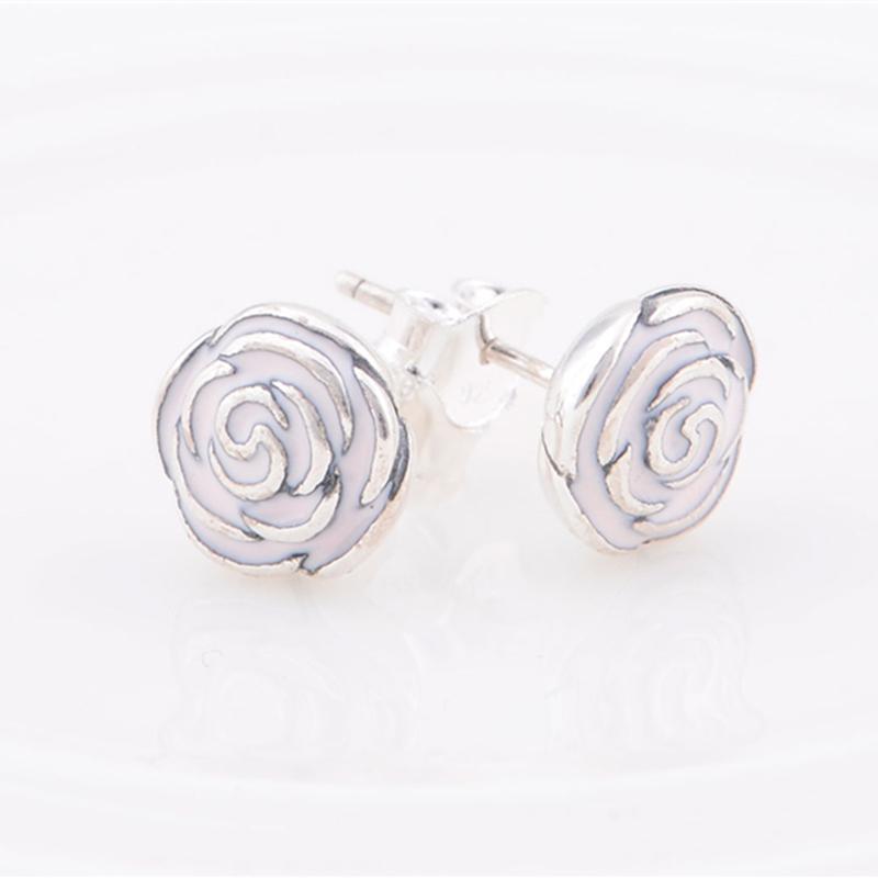 Pandora Interchangeable Earrings: 100% 925 Sterling Silver Earrings Compatible With Pandora
