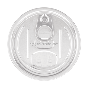 300 Aluminium EOE Round Various Food Grade Gift Pet Can Easy Open Lid Cap Cover