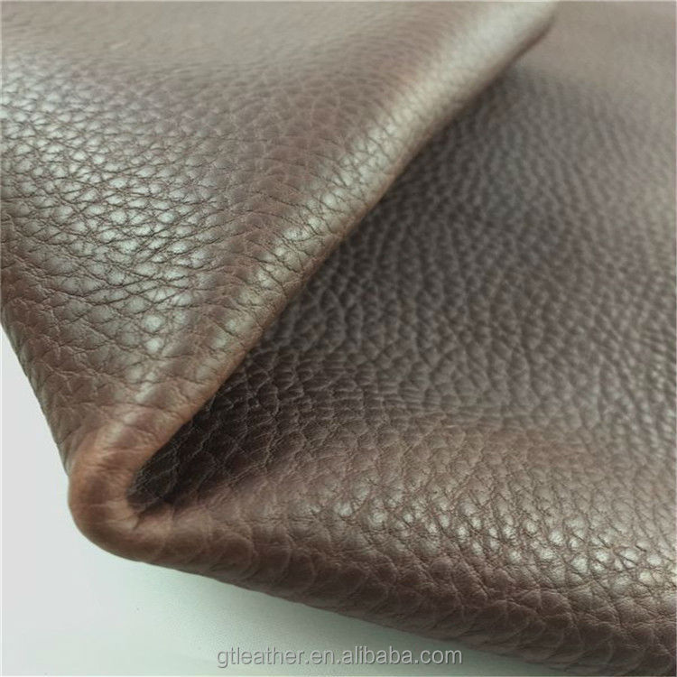 Genuine cow embossed leather for shoes sofa