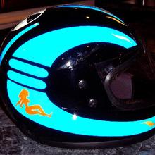 Custom Motorcycle Helmet Decals Custom Motorcycle Helmet Decals - Custom reflective helmet decals motorcycle
