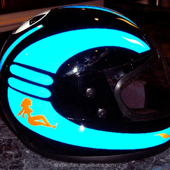 Custom Design Reflective Motorcycle Helmet Flame Decal Buy