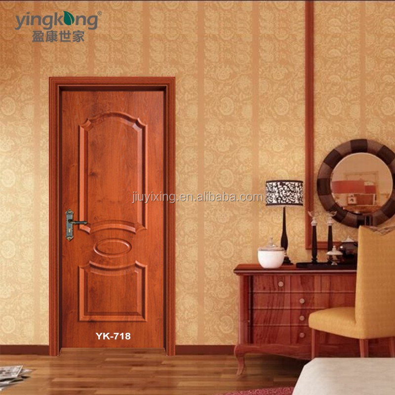 Interior Apartment <strong>Door</strong> Classic Simple Design Wood <strong>Door</strong> With Lower Factory Price