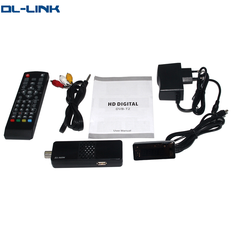 K1 Mini T2 Penuh HD Penerima Satelit Kuat Decoder SRT 4922 Upgrade Firmware DVB-T2 Afrika Televisi Satelit Decoder