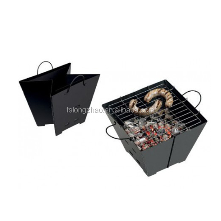 Caldo Amazon outdoor pieghevole griglia a carbone mini bbq gril