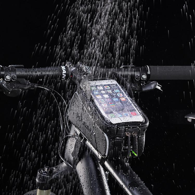 2019 nova moda logotipo personalizado esporte ao ar livre ciclismo de montanha bicicleta saco quadro saco de armazenamento carry bicicleta saco do telefone à prova d' água