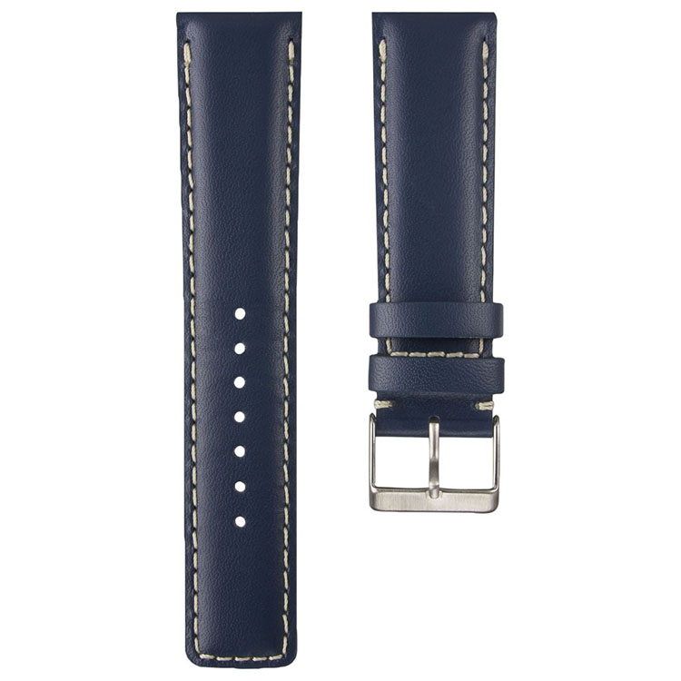 2018 Luxury Adjustable Strap Leather Stainless Steel Buckle Changeable Watch Band Strap