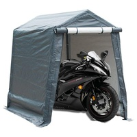 Poray motorcycle garage shelter heavy duty waterproof fabric garden tools storage tent
