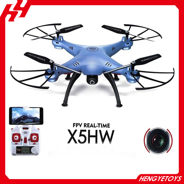Hot item Syma X5HW 2.4G High hold mode with HD camera Wifi FPV RC Drone