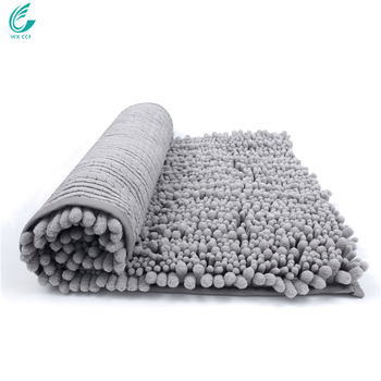 Non-slip microfiber shaggy living room rugs for bath room living room use