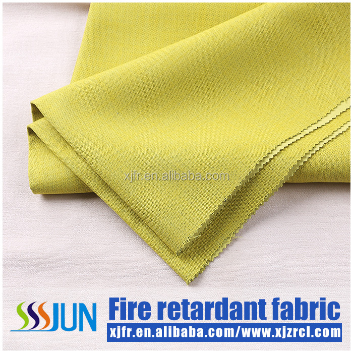 polyester Inherently fire retardant blackout fabric hotel, home and meeting room use curtain fabric