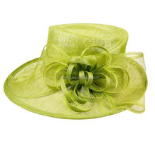Manufacturer decorative floral wedding hats fascinators