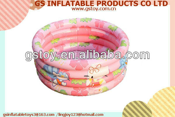PVC inflatable swimming pools kids EN71 approved