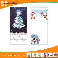 Popular flashing christmas greeting cards with high quality